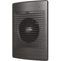 Вентилятор СТАНДАРТ 5С black AL (D=125, V=185m3/h). обр. клапан
