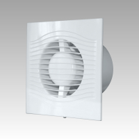 Вентилятор SLIM 4 (D=100, V=90m3/h), малошумящий 25дБ