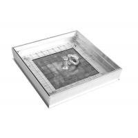 Люк напольный 40*60 Премиум 50, заполняемый, съемный, резиновое уплотнение