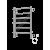 Полотенцесушитель электрический ЕВРОМИКС ЭЛЕКТРО П6 450*650, 99Вт