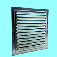 Решетка стальная 1717 РМЦ, вентиляционная оцинкованная с сеткой 175х175