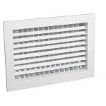 Решетка АДН вентиляционная, размер строительного проема 150(ширина)* 150 (высота) RAL9016