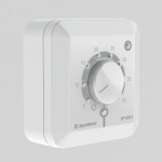 Терморегулятор ТР-03.1 П, накладной, вращ.рег.+5°С...+40°С