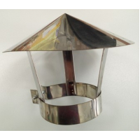Зонт для дымохода,  диам. 180, нерж. сталь