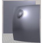 Вентилятор ПАРУС 4С gray metal (D=100, V=90m3/h), обр.клапан