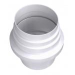 Соединитель 12,5СC круглый , для сбора конденсата, диаметр 125мм пластик