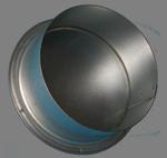 Заглушка вентиляционная d.100 (оцинк)
