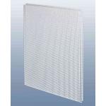 Потолочнаяе кассета 60х60 см., перфорация квадрат 5х8, для подвесного потолка, металл.,белая
