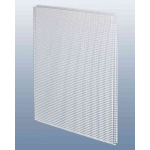 Потолочнаяе кассета 60х60 см., перфорация квадрат цветок, для подвесного потолка, металл.,белая