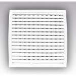Решетка 1515РРПН разъемная вентиляционная наружная, регулируемая, 150х150, ASA-пластик
