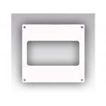 Накладка 612НПП, торцевая 150х150 для прямоугольного воздуховода 60х120