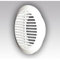 Решетка круглая 10РКФ, вентиляционная, разъемная D145 с фланцем D100