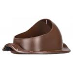 Элемент проходной коричневый, для фальцевой и битумной кровли, SPTS Brown