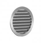 Решетка алюминиевая 315 РКМ,вентиляционная круглая D315мм. c сеткой