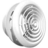 Диффузор 16ДК, приточно-вытяжной со стопорным кольцом и фланцем D160
